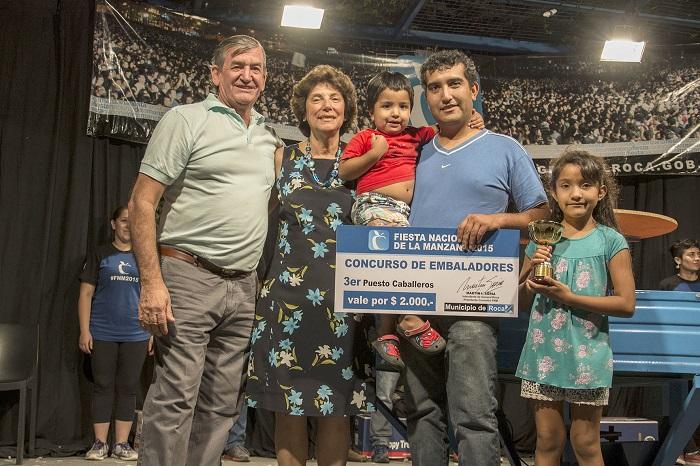 Ganadores del Concurso de Embaladores 2015 , General Roca