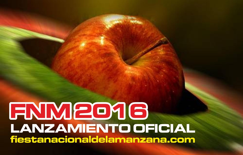 LANZAMIENTO OFICIAL de la FIESTA NACIONAL de la MANZANA 2016