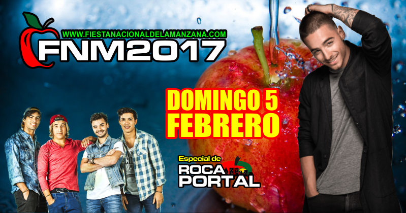 domingo-5-de-febrero-fiesta-nacional-de-la-manzana-2017-marama-maluma-general-roca-rio-negro