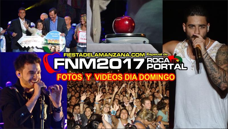FOTOS y VIDEOS del DIA DOMINGO – FIESTA NACIONAL de la MANZANA 2017, MARAMA y MALUMA !