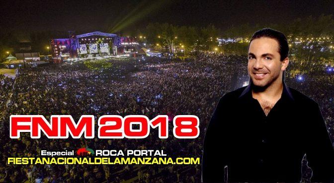 CRISTIAN CASTRO en la SEGUNDA NOCHE de la FIESTA NACIONAL de la MANZANA 2018
