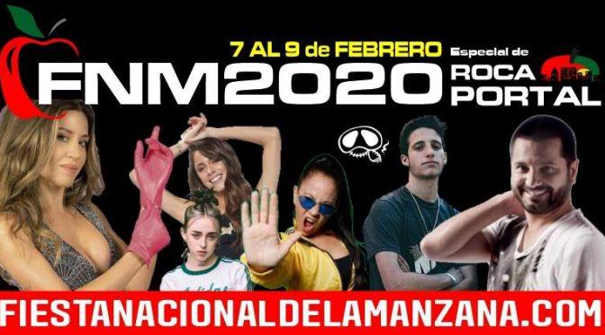 ARTISTAS FIESTA NACIONAL de la MANZANA 2020 – No habrá ELECCION de REINA y FUEGOS ARTIFICIALES