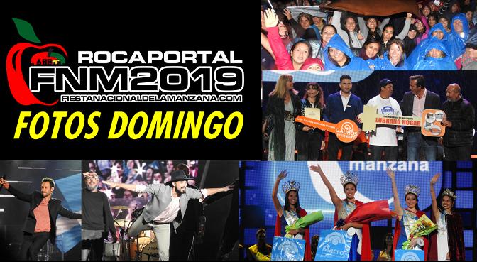 FOTOS DEL DOMINGO – LUCIANO PEREIRA, ABEL PINTOS, ELECCION DE LA REINA y la GENTE ! – FIESTA NACIONAL DE LA MANZANA 2019